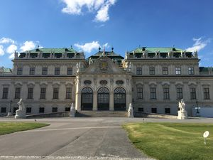 When in Wien! Belvedere Palace ???? #BestTravelPictures  @tripotocommunity