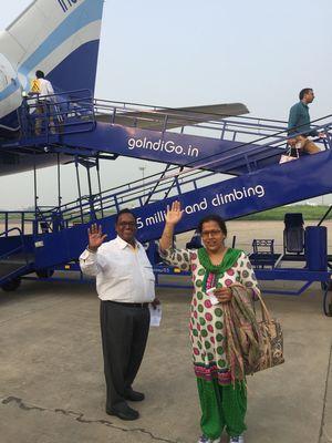 Travelling with Parents - Mumbai 2016