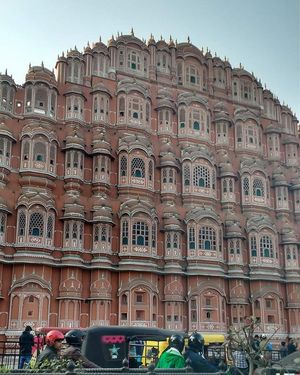 Blow away your stress at Hawa Mahal #BestTravelPictures #tripotocommunity