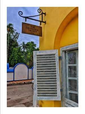 The Denmark Tavern - Renovated Danish Heritage Cafe near Calcutta