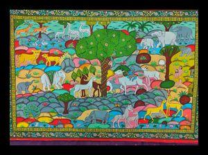 RAGHURAJPUR- Where Art  Meets Heritage #Miphone #Odisha #IndianArt #Raghurajpur