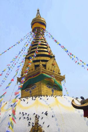 Swayambhunath Temple 1/2 by Tripoto
