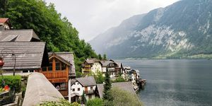 When we visited this beautiful village of Hallstatt #besttravelpictures