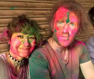 Hey guys, last year we celebrated Holi in Dharan city, Nepal and it was so much fun. #holi #festival