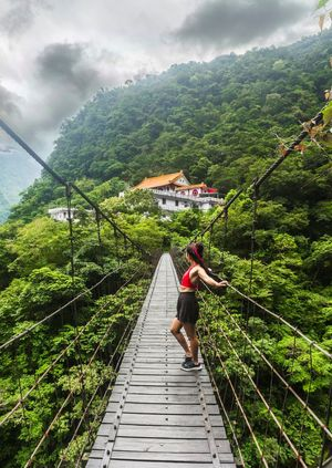 """Love is the bridge between you and everything."" Go visit the Taroko Gorge in Taiwan...."