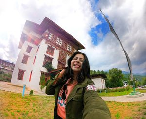 Kuzungpo la (Hello) from the Land of Happiness! :) #SelfieWithAView  #TripotoCommunity