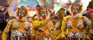 Pulikali- A Tiger  Dance  of Kerela