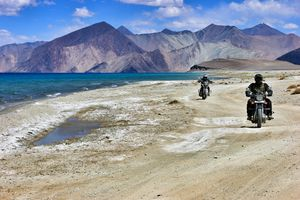 Exploring Ladakh on Bike #bestof2018