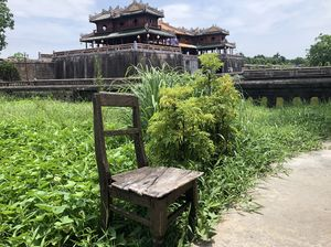 The lone chair. By the Imperial citadel.