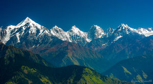 The Forbidden Valley Of Snowclad Pandava Peaks, Shiva's Virgin Mountain And Timewarped Villages