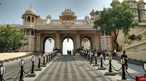 You can't miss the City Palace in Udaipur