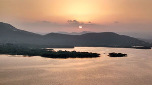 Evening Sky Watch- Udaipur diaries