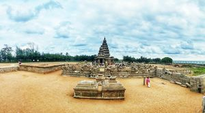 Shore Temple of Pallava Dynesty - Still Amazing!!