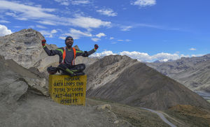 Manali to Leh Cycling…..