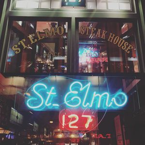 Best Eats In Indianapolis: St. Elmo Steak House