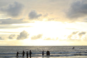 An evening at Kashid Beach