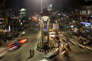 Lions Clock Tower - Siliguri, West Bengal