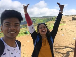 A sunny day in Lonavla, #selfiewithaview #tripotocommunity