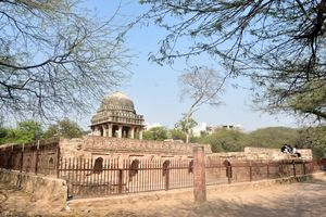 Walk through Mehrauli Archaeological park and Qutub Minar - Delhi