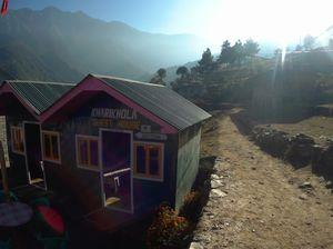 Exploring Nepal, enroute Pagong