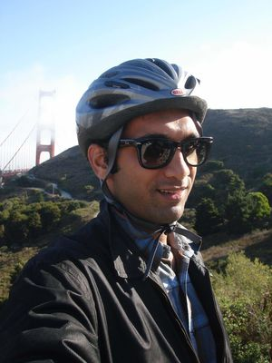 Biking across the Golden Gate! #SelfieWithAView #TripotoCommunity