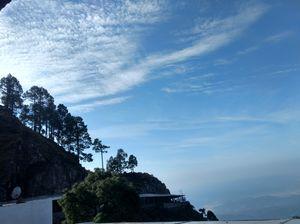 Beautiful sky.#colourblue