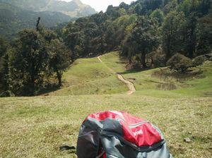 Jungle trek 16km,  from Deoriatal to Chopta Tungnath, Chandrashila