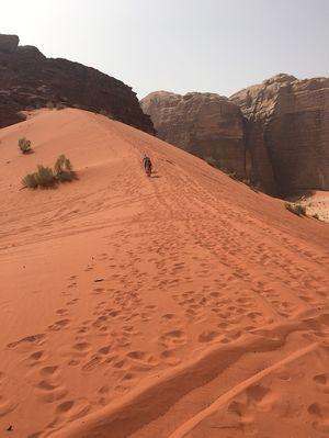 Experiencing Mars Land @ Wadi Rum, Jordan