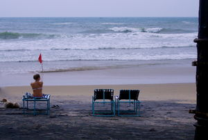 The Enticing beach of south - Kovalam