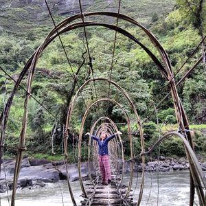 Taksing, Arunanchal Pradesh 78kms of walk through the rough Arunanchalee terrain ❤