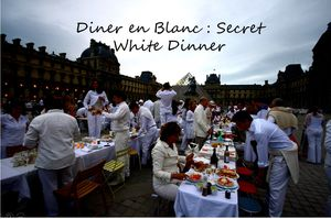 Diner en Blanc : Secret Dinner in White