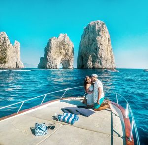 A private boat tour around Capri, a must in the bucketlist for your next Italian Summer adventure