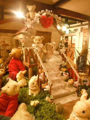 A Teddy bear town on a nomadic wander...The Japan story continued