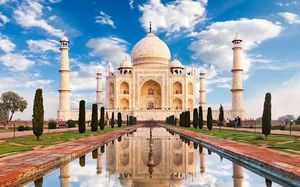 "THE LOVE OF  ""TAJ"""