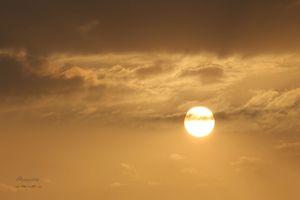 Sun going down in Kasauli !