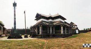 This temple in Moodbidri tells thousand stories with its thousand Pillars