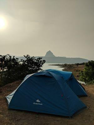 Weekend Camping At Pawna Lake