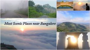 Top 5 Must Visit Places less than 100Kms from Bangalore- Most Scenic Picnic Spots for one day Trips.