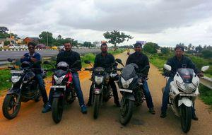 Trekking Destination near Bangalore- Kaurava Kunda Ride & Trek