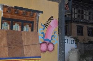 Exploring the Phallus Village of Bhutan | A Walking tour of Sopsokha village