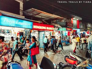 An evening in HongKong Market, Siliguri