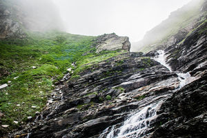 Monsoon face of Lahaul Valley