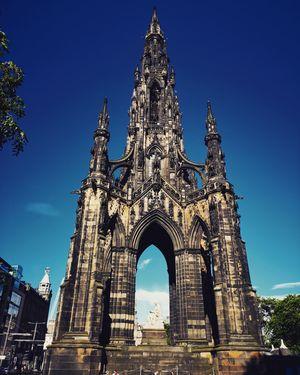 The ScottMonumentis a Victorian Gothicmonumentto ScottishauthorSir Walter Scott