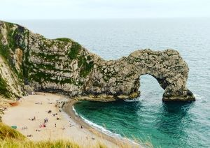 A Day In durdle door, Dorset, United Kingdom