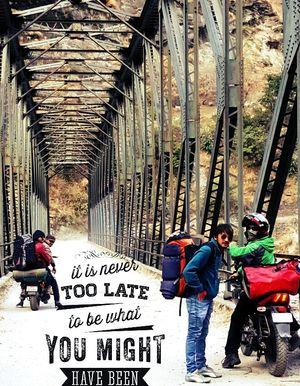 VLOG,, Motor Biked to  Kalpeshwar Mahadev.
