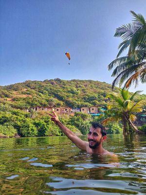 Sweet water Lake, Kalacha, Goa