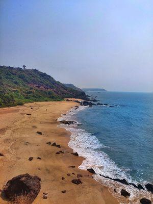 Untouched Beach of Paradise, Goa