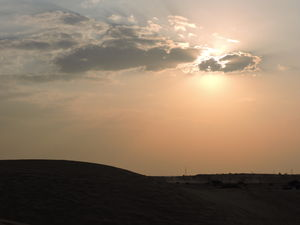 Undying sand-dunes of Jaisalmer
