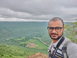 What a view   #SelfieWithAView #TripotoCommunity