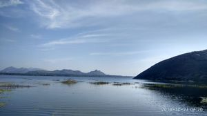 A flavour of jainism with best view of a lake beneath the hill: Mandaragiri Hills